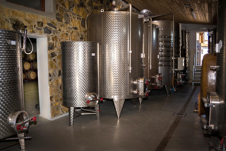 Cantina di vinificazione Tenuta La Greggia