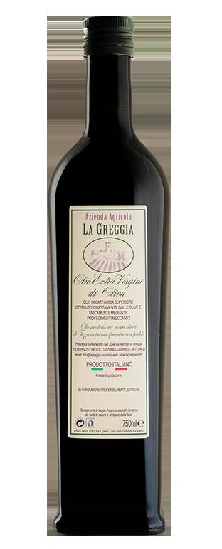 Bottiglia Olio Extra Vergine d'Oliva de La Greggia